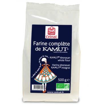 Farine complète de kamut ® bio (blé de khorasan)