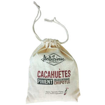 Hellicious - Spicysaus - Cacahuètes au piment chipotle
