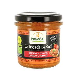 Priméal - Quinoade du sud - tomate et quinoa à tartiner bio