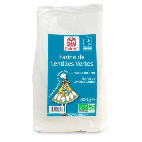 Celnat - Organic green lentil flour