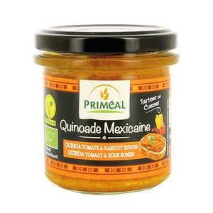 Priméal - Quinoade mexicaine - quinoa, tomate et haricot rouge à tartiner bio