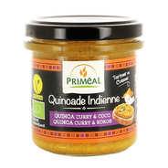 Priméal - Quinoade indienne - quinoa, curry et coco à tartiner bio