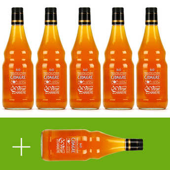 Verger de la Hanère - Organic Cider Vinegar - La Hanère - 5 + 1 free