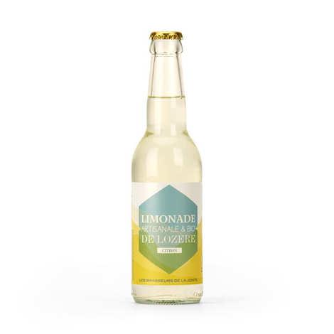 Les brasseurs de la Jonte - Organic Lemon Handmade Lemonade From Lozere