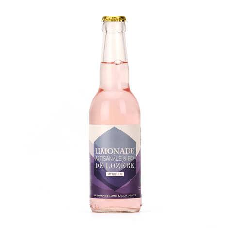 Les brasseurs de la Jonte - Organic Blueberry Handmade Lemonade From Lozere
