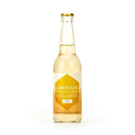 Les brasseurs de la Jonte - Organic Chesnut Honey Handmade Lemonade From Lozere
