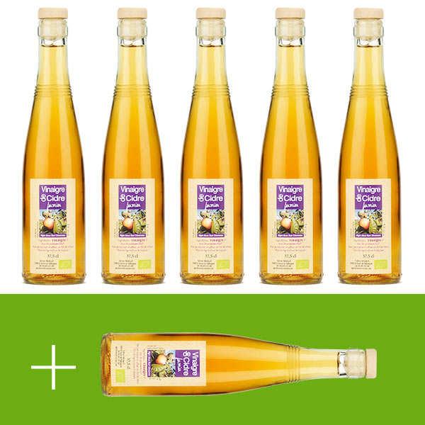 Organic Cider Vinegar (37.5cl) - 5 + 1 free