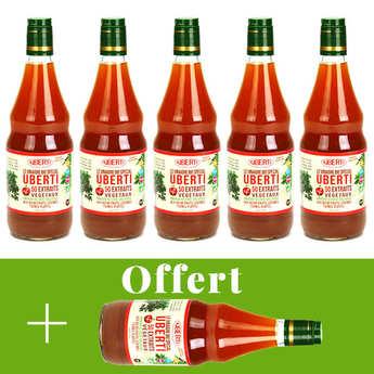 Mondial Uberti - Organic cider vinegar Uberti - 5 + 1 free