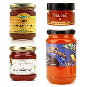 BienManger.com - Assortiment de miels de châtaignier