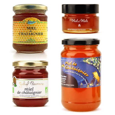 - 4 Assorted Chestnut Tree Honeys