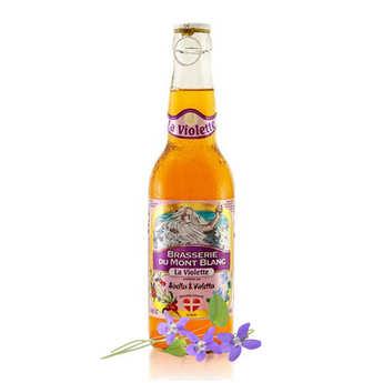Brasserie du Mont Blanc - Violette du Mont Blanc - bière airelles violettes 4.7%