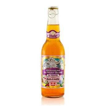 Brasserie du Mont Blanc - Violette du Mont Blanc - Cranberry And Violet Beer 4.7%
