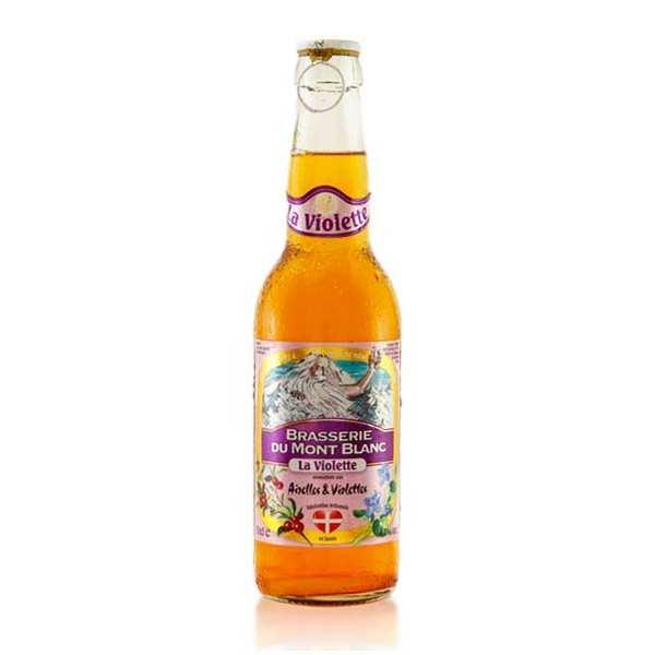 Violette du Mont Blanc - bière airelles violettes 4.7%