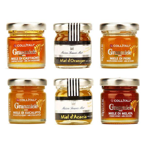 Discovery assortment of honeys