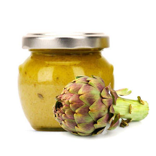 Crème d'artichaut au basilic à tartiner