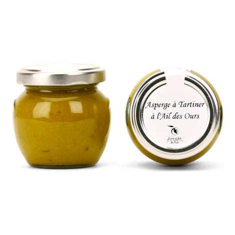 Artisan du fruit - Asparagus And Garlic Cream To Spread