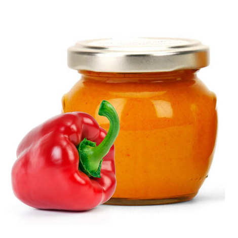 Artisan du fruit - Crème de poivrons rouges confits au paprika et au piment