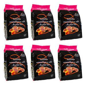 Maison Taillefer - Le carton de 6 sachets de tartelettes caramel beurre salé et chocolat au lait