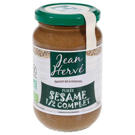 Jean Hervé - Tahin - purée de sésame semi-complet bio