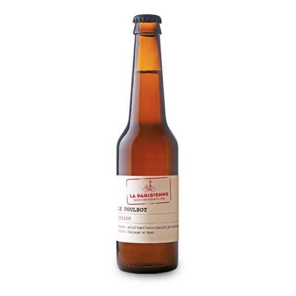 La Parisienne – bière saison Le Poulbot 5.5%