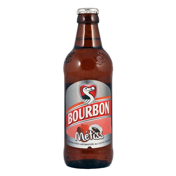 Bière Bourbon Métiss au letchi - bière réunionnaise
