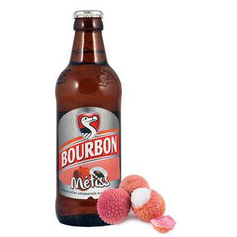 Brasseries de Bourbon - Bière Bourbon Métiss au letchi - bière réunionnaise