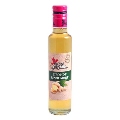 Délices de Guyane - Ginger Syrup From French Guiana