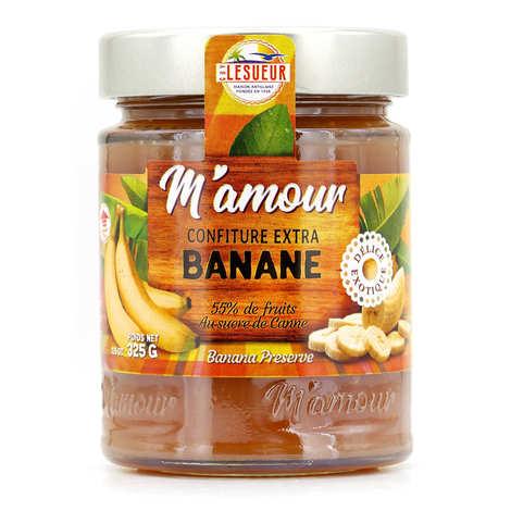 Délices M'amour - Confiture de banane de Guadeloupe