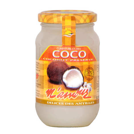 Délices M'amour - Coco Jam From Guadeloupe