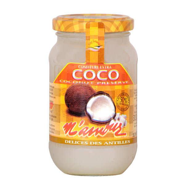 Confiture de coco de Guadeloupe