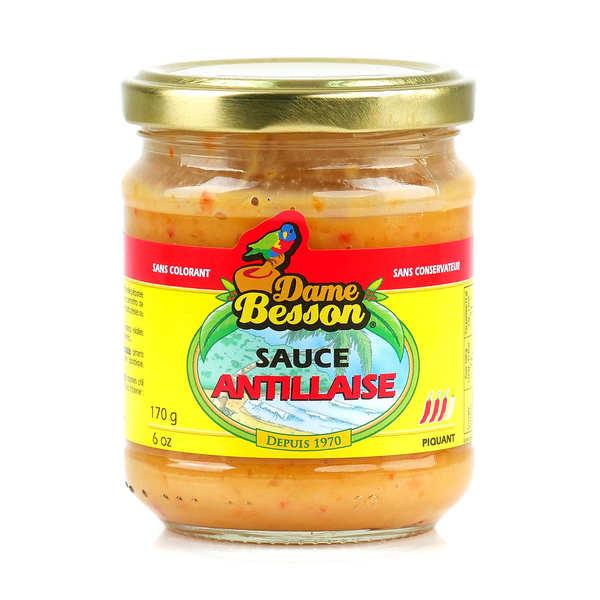 Sauce antillaise de Guadeloupe