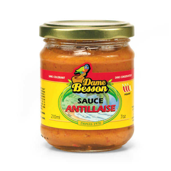 West Indian Sauce From Guadeloupe