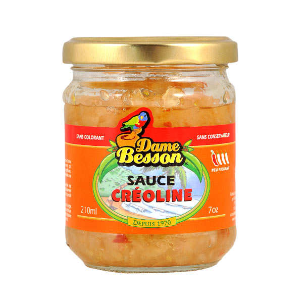 Creole Sauce From Guadeloupe