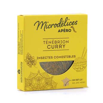 Micronutris - Grillons et ténébrions saveur curry