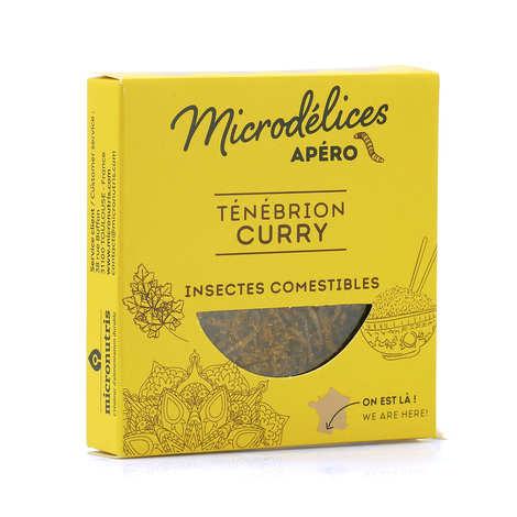 Micronutris - Crickets And Tenebrios Curry Flavor