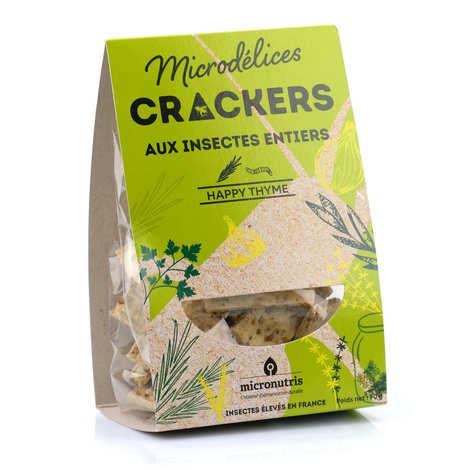 Micronutris - Crackers aux ténébrions, romarin et thym