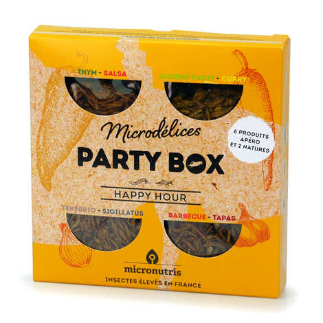 Micronutris - Happy Hour Party Box - Insects