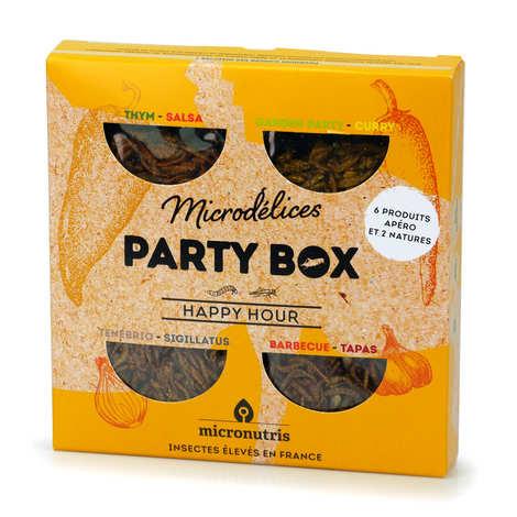 Micronutris - Party Box Happy Hour – A la découverte de l'insecte