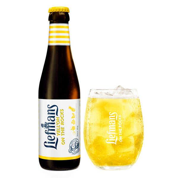 Liefmans Yell'Oh - Bière Belge aromatisée aux fruits jaunes 3.8%