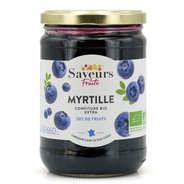 Saveurs Attitudes - Confiture extra de myrtille bio