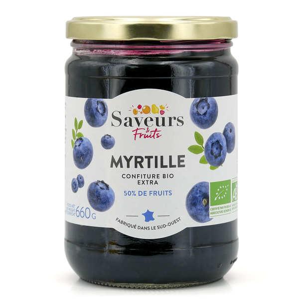 Confiture extra de myrtille bio