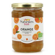 Saveurs Attitudes - Confiture extra d'orange bio