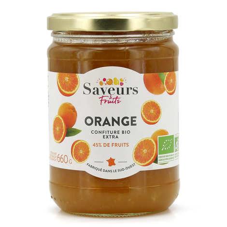 Saveurs Attitudes - Confiture extra d'orange bio