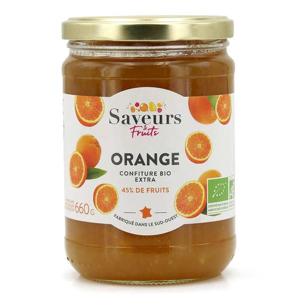 Confiture extra d'orange bio
