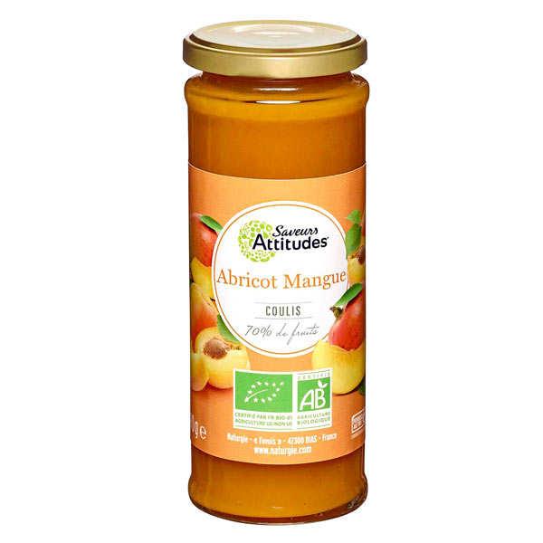 Coulis d'abricot et mangue bio