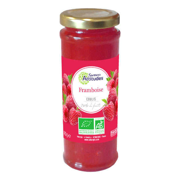 Organic And Delicious Rasberry Coulis