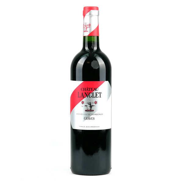 - graves rouge (bordeaux aoc) - 2014 - bouteille 75cl