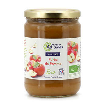 Saveurs Attitudes - Organic Apple Puree