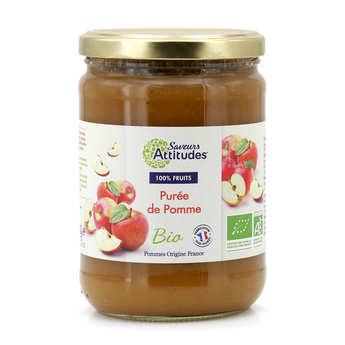 Saveurs Attitudes - Purée de pomme bio