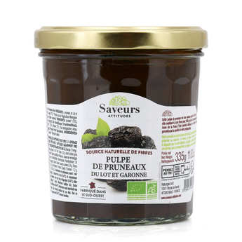 Saveurs Attitudes - Organic Prune Pulp From France